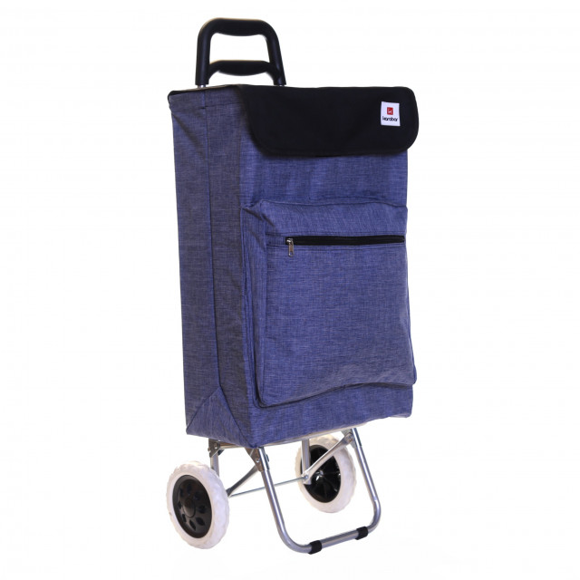 Moss Large Shopping Trolley Insulated Pocket