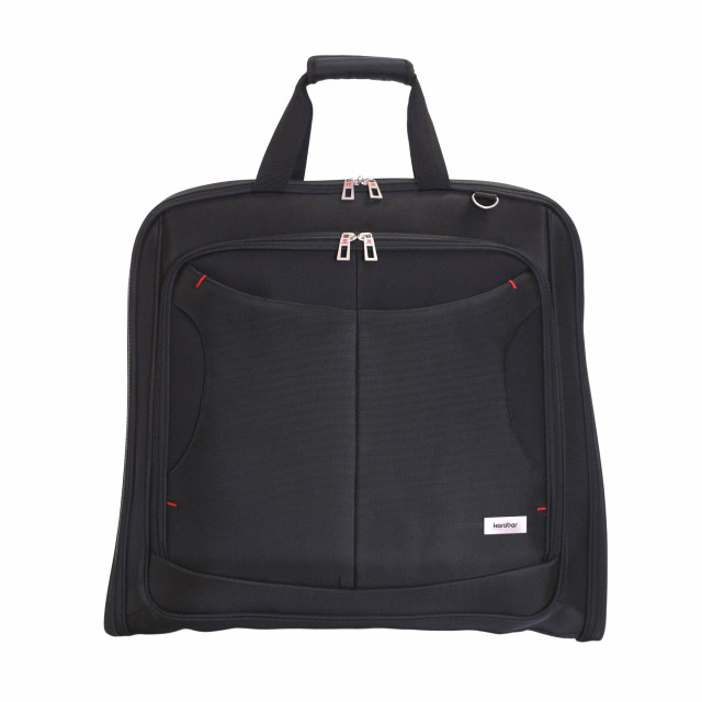 Salisbury Slim Suit/Garment Carrier, Black