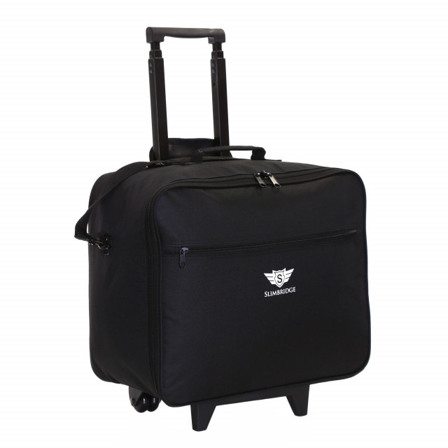 Kalmar Wheeled Laptop Case, Black