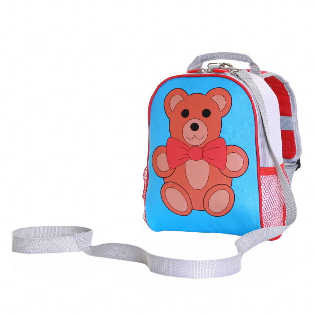 Teddy Toddler Backpack With Safety Rein