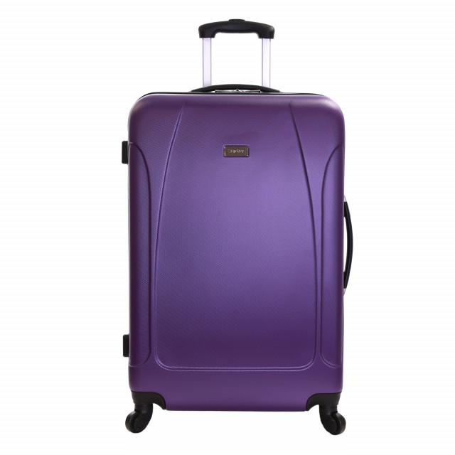 Karabar Evora 76 cm Hard Suitcase, Eggplant