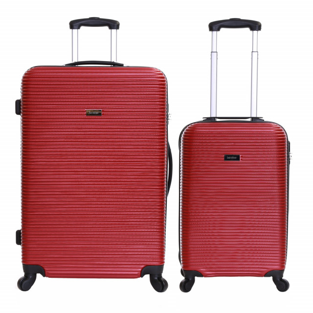 Karabar Grantham II Set of 2 Hard Suitcases, Brick