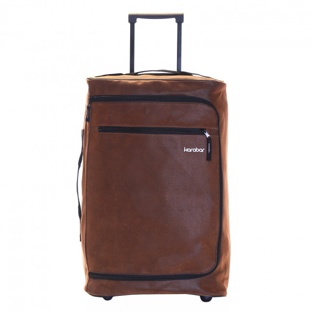 Hudson Cabin Approved Luggage Bag, Brown