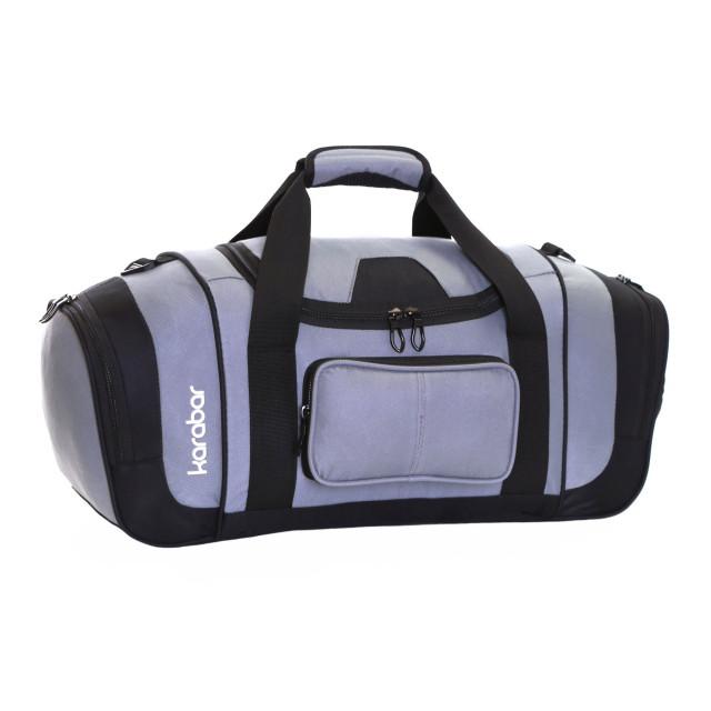 Karabar Lomond Sports/Gym Bag, Grey