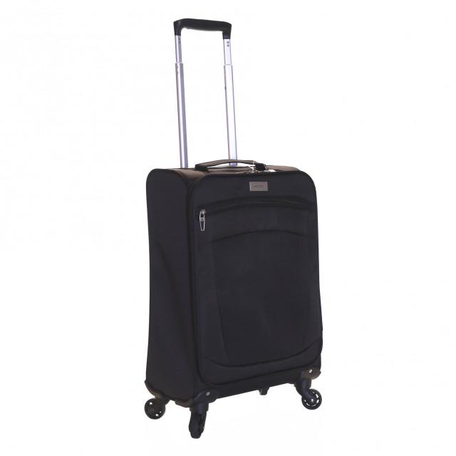 Karabar Marbella 55 cm Lightweight Suitcase, Black