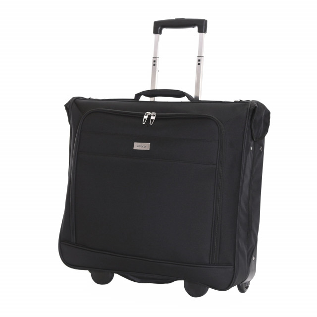 Karabar Stanley Wheeled Suit/Garment Carrier, Black