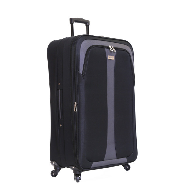 Slimbridge Andalucia 79 cm Expandable Suitcase, Black