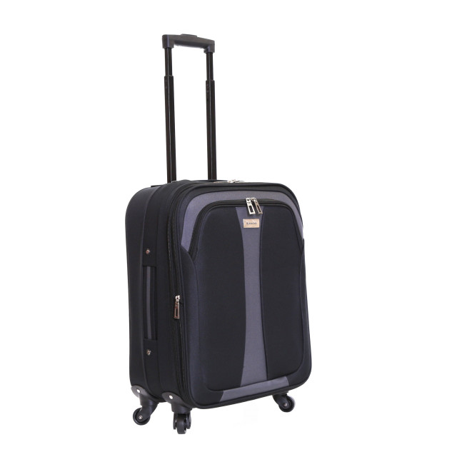 Slimbridge Andalucia Expandable Cabin Suitcase, Black