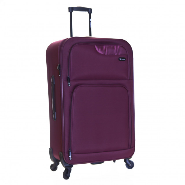 Slimbridge Andalucia Extra Large 79 cm Suitcase, Plum
