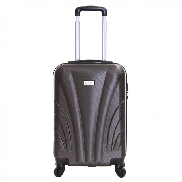 Slimbridge Ferro 55 cm Hard Suitcase, Grey