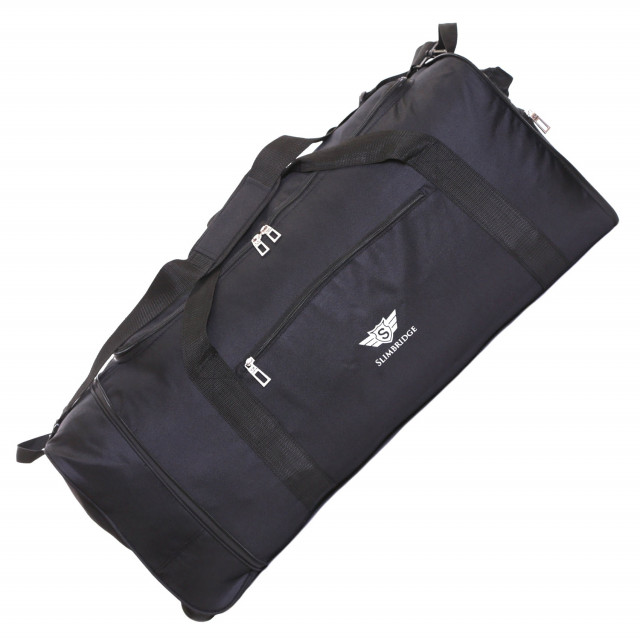 Slimbridge Havant 80 cm Foldable Wheeled Bag, Black