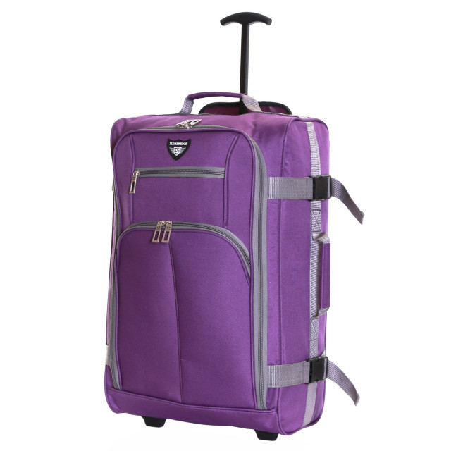Slimbridge Lobos Cabin Trolley Bag, Purple