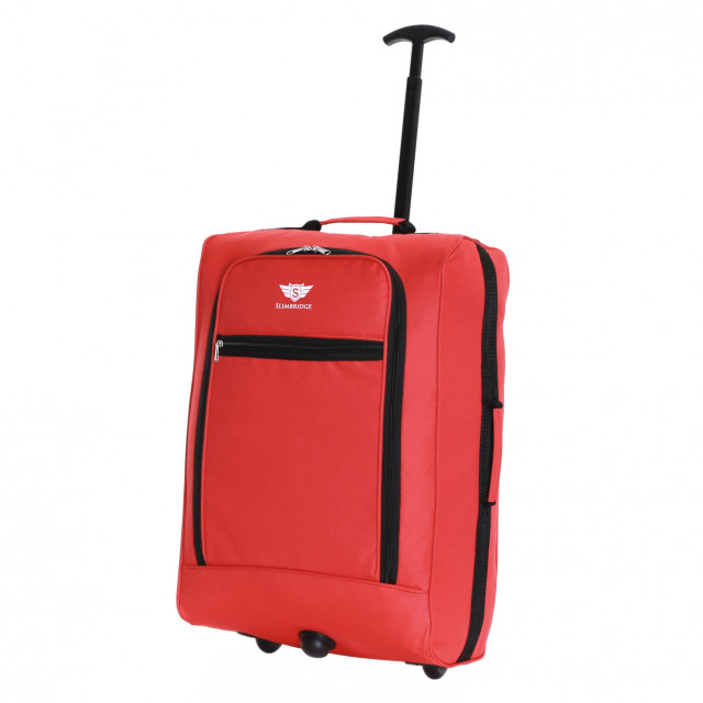 Slimbridge Montecorto Cabin Trolley Bag, Red