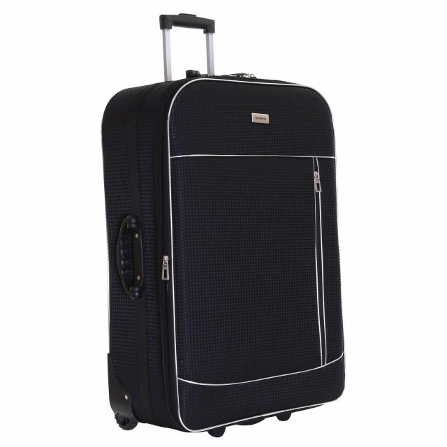 Slimbridge Rennes Large Expandable Suitcase, Black