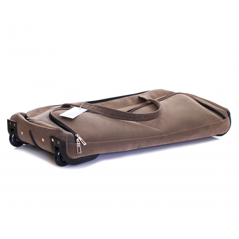 Karabar Anderson 34 Inch Wheeled Bag, Walnut Folded