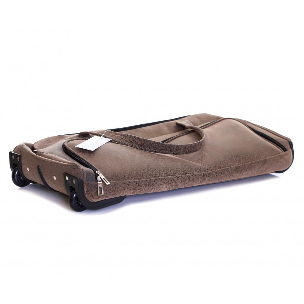 Karabar Anderson 34 Inch Wheeled Bag, Walnut Folded