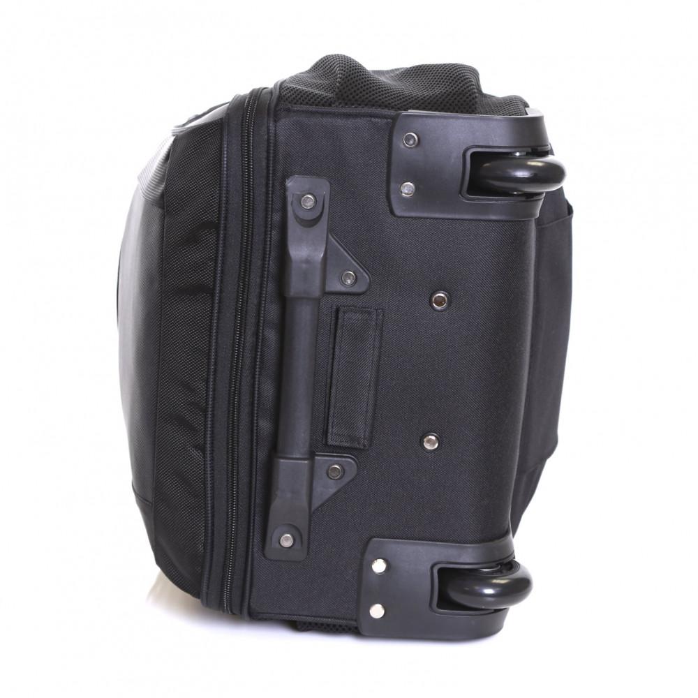 Karabar Aragon Wheeled Laptop Backpack, Black Wheels