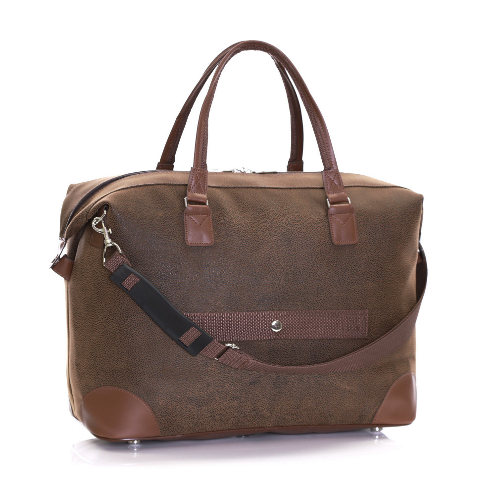 Karabar Berwyn Cabin Approved Bag, Brown Back Shoulder Strap