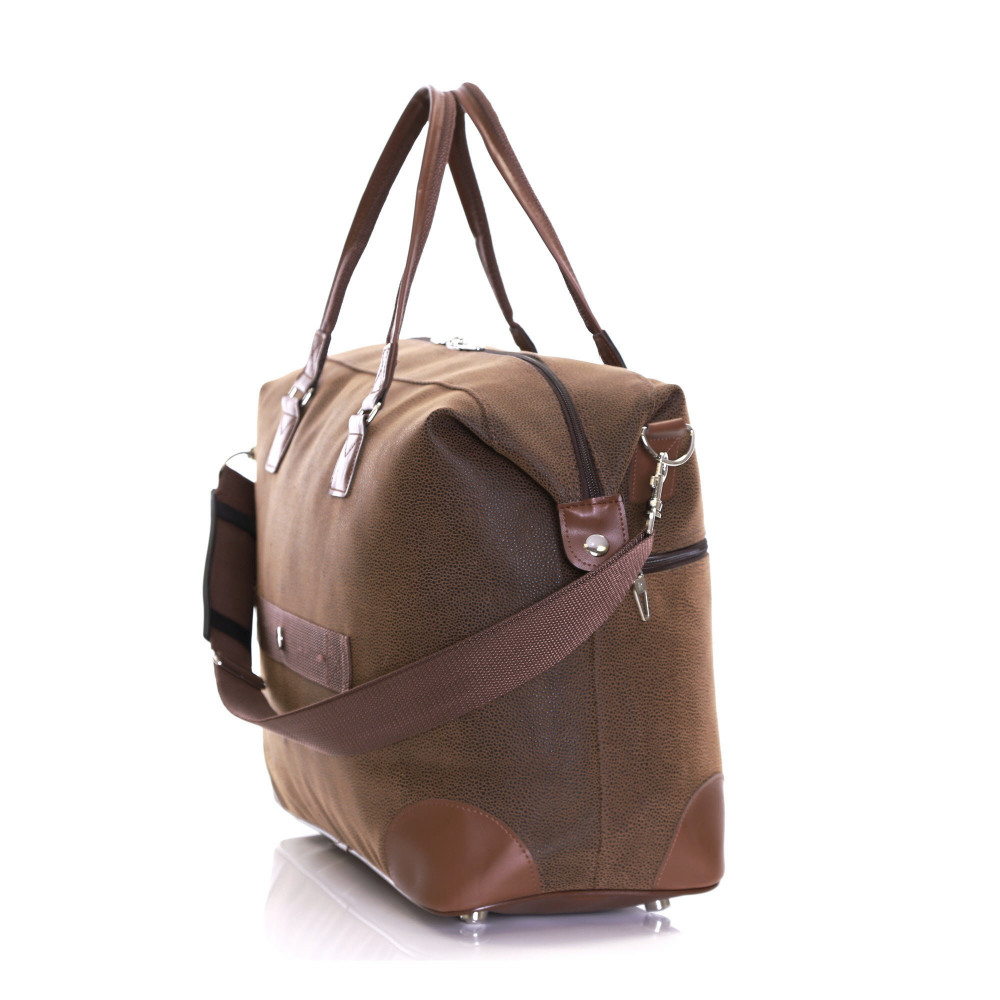 Karabar Berwyn Cabin Approved Bag, Brown Side