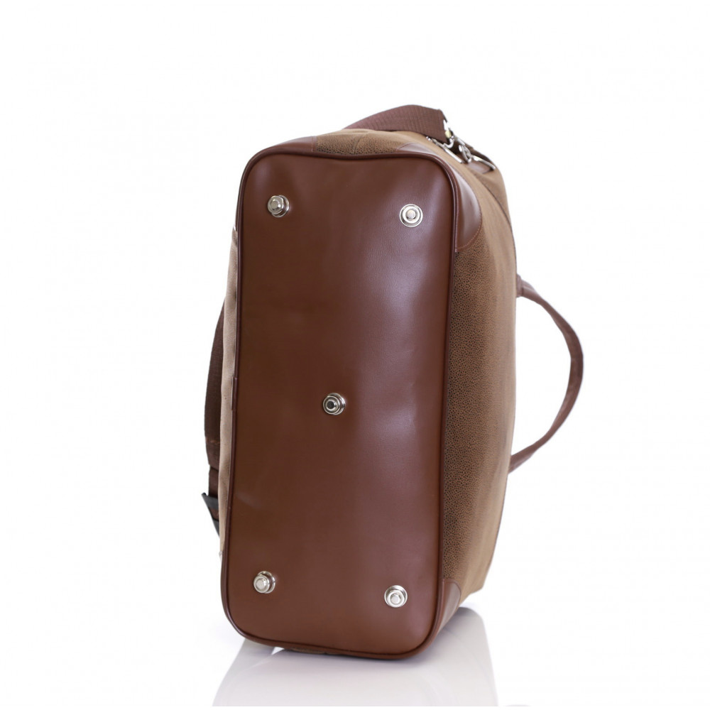 Karabar Berwyn Cabin Approved Bag, Brown Feet
