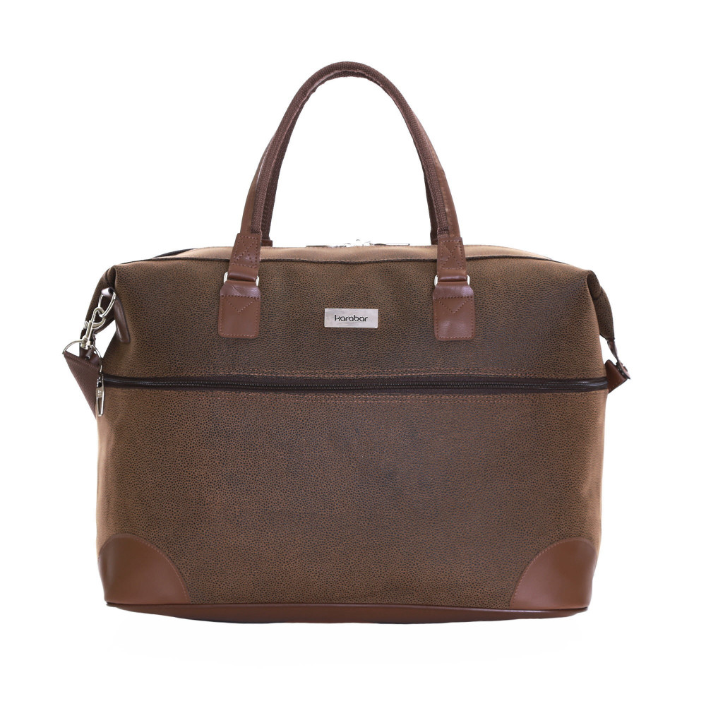 Karabar Berwyn Cabin Approved Bag, Brown