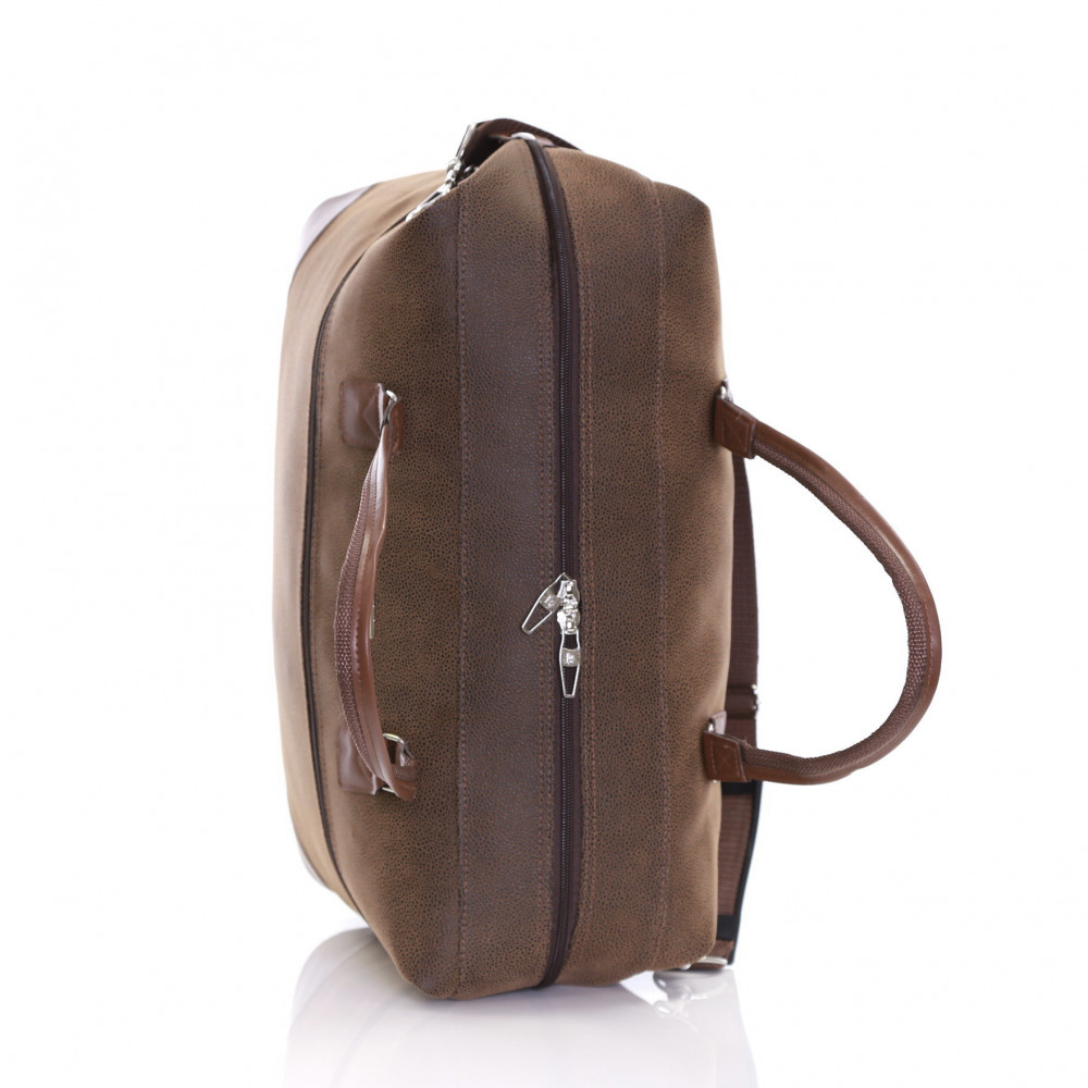Karabar Berwyn Cabin Approved Bag, Brown Top