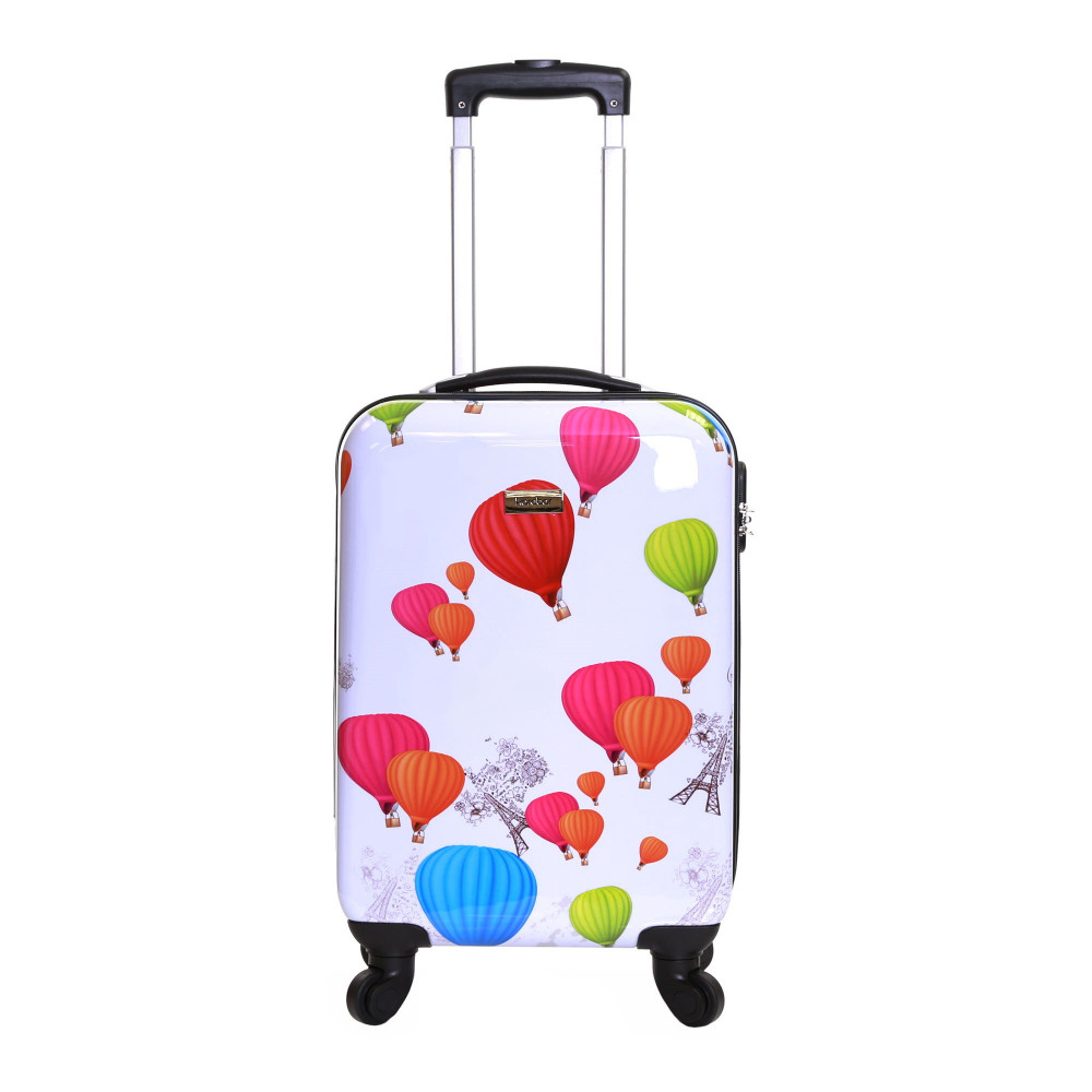 Karabar Dewberry 55 cm Hard Suitcase, Balloons