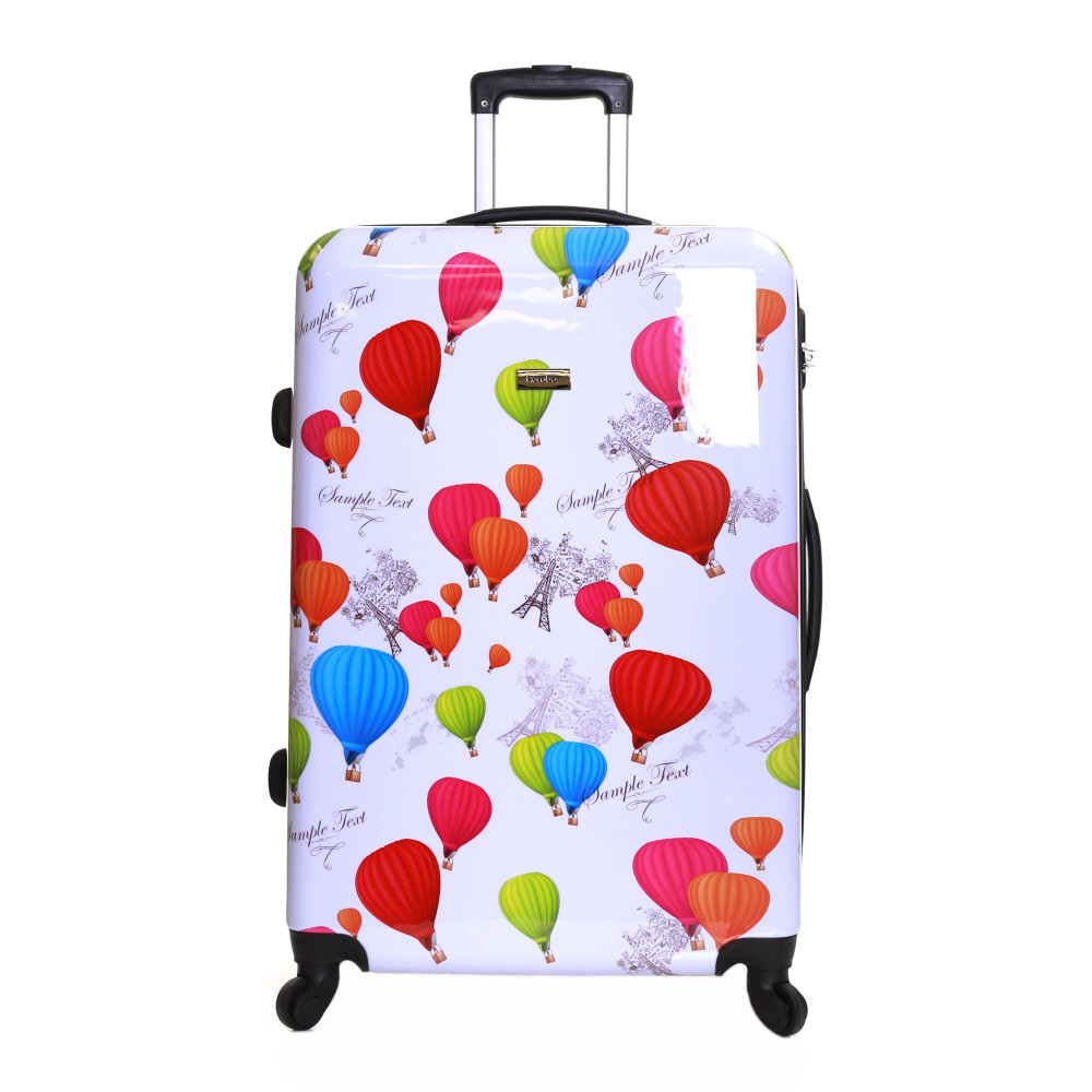 Karabar Dewberry 76 cm Hard Suitcase, Balloons