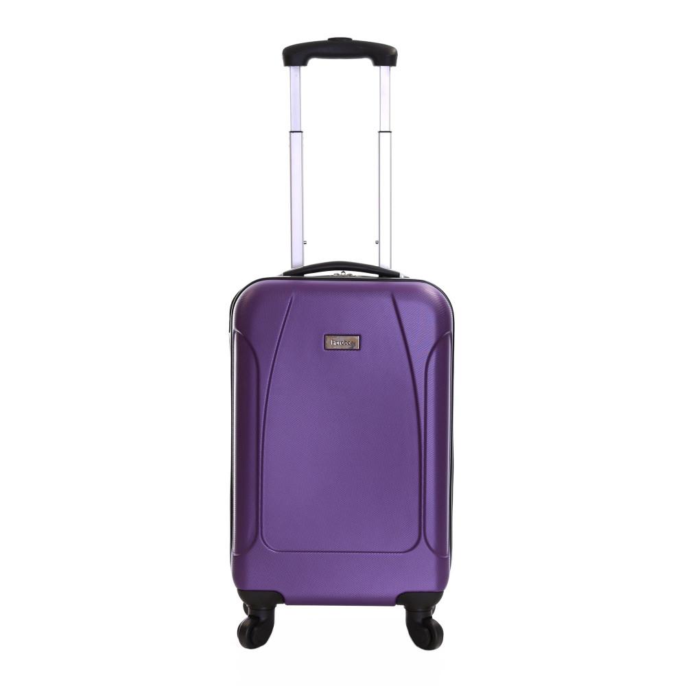 Karabar Evora 55 cm Hard Suitcase, Eggplant