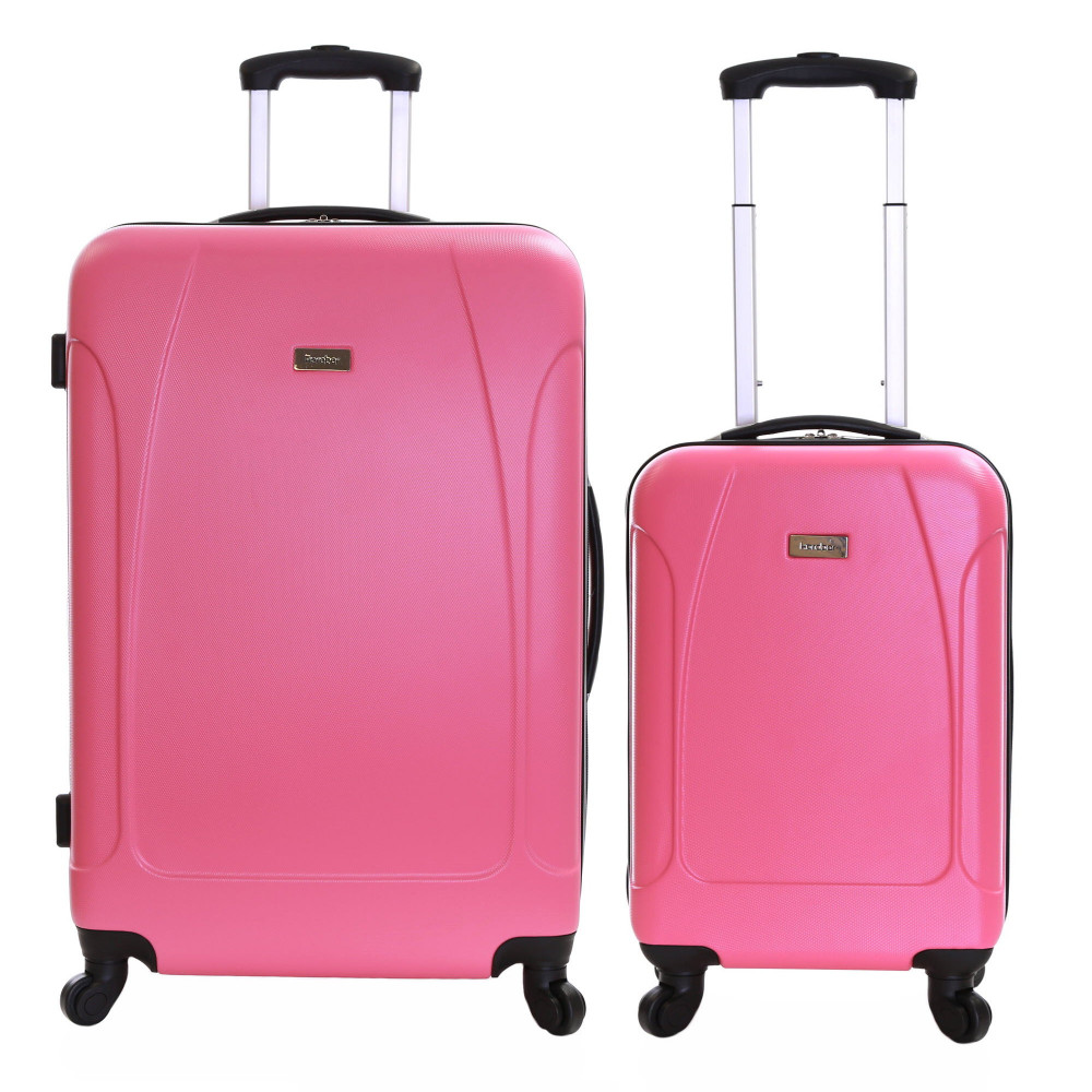 Karabar Evora Set of 2 Hard Suitcases, Punch
