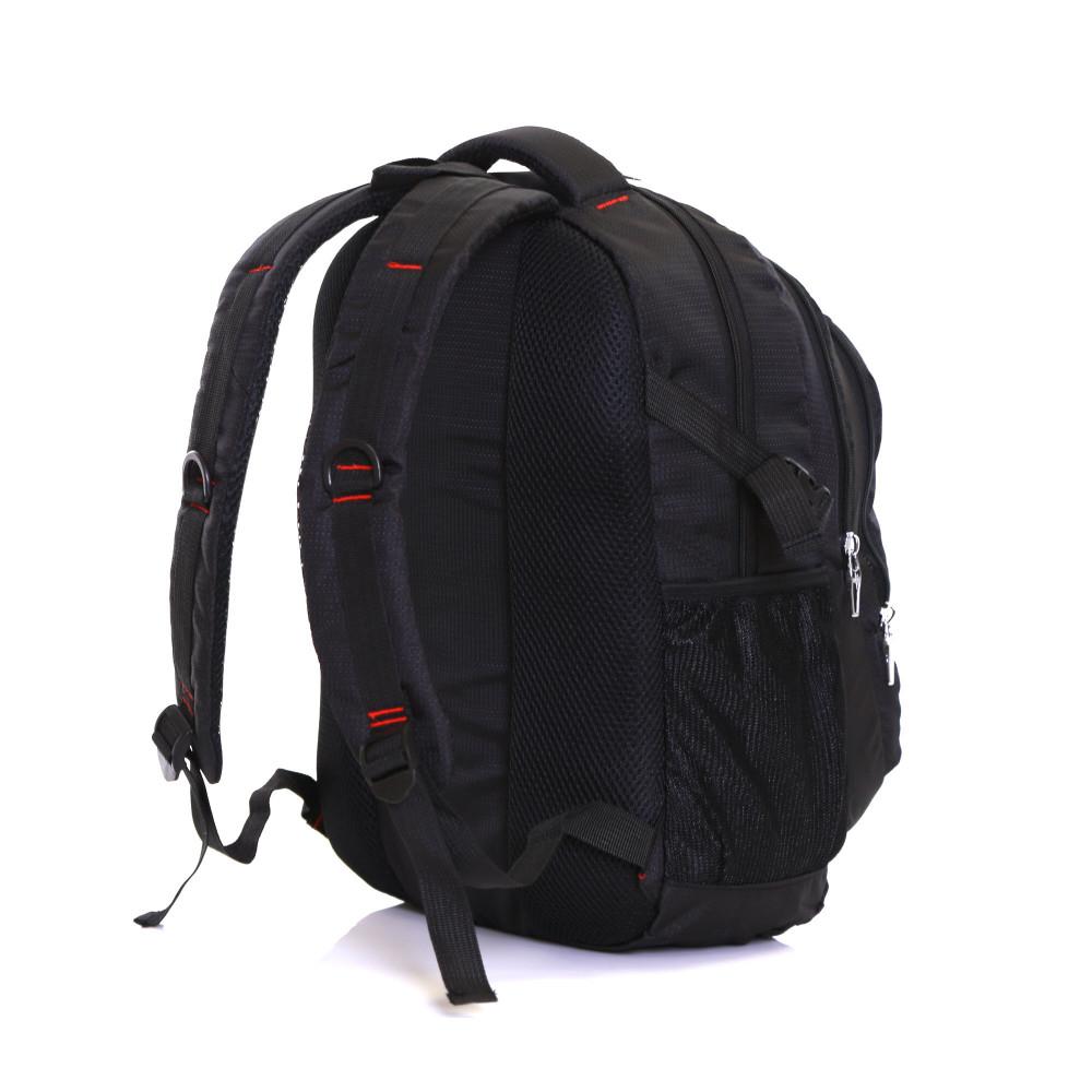 Karabar Foxford 30 Litre Backpack, Black Back Side