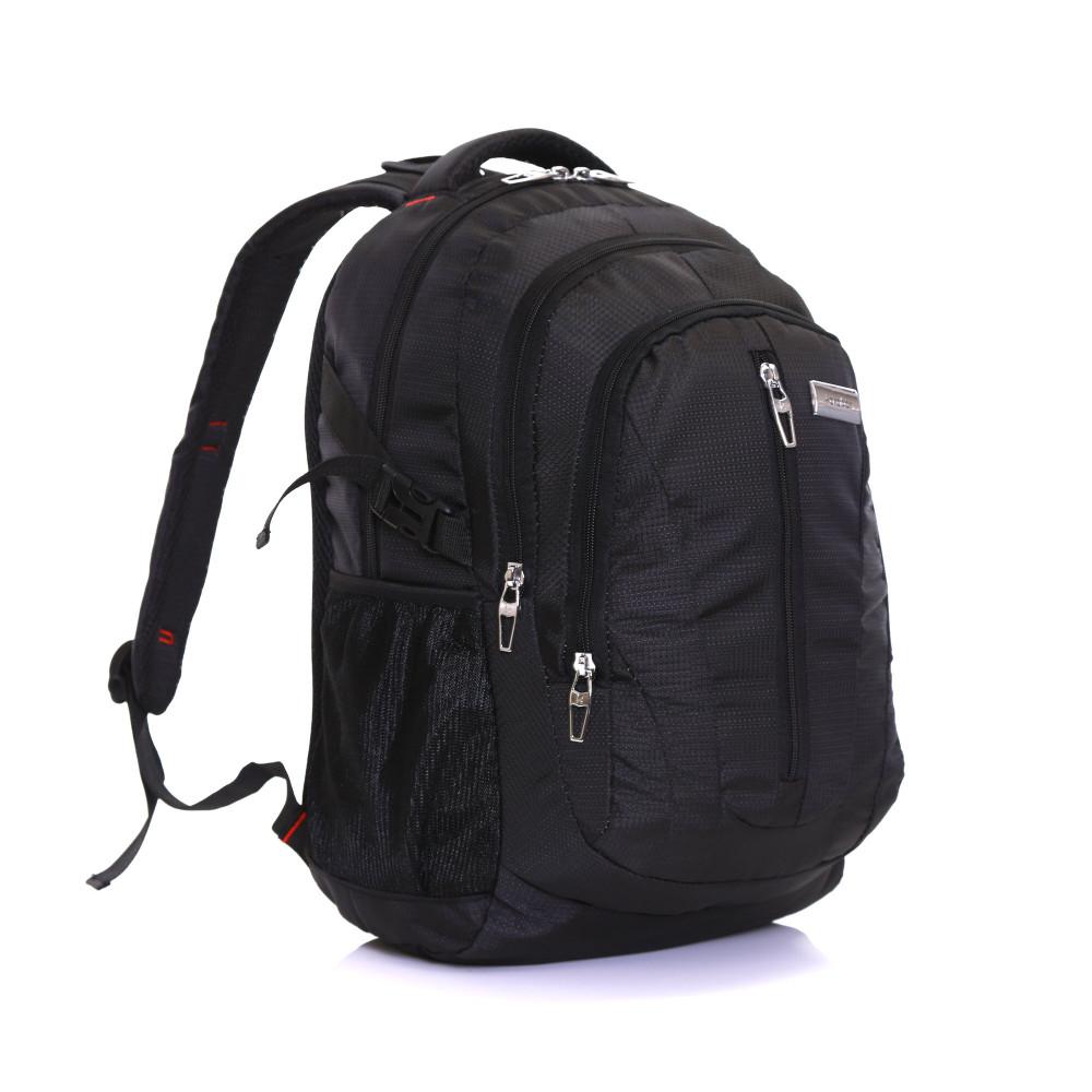 Karabar Foxford 30 Litre Backpack, Black Front Side