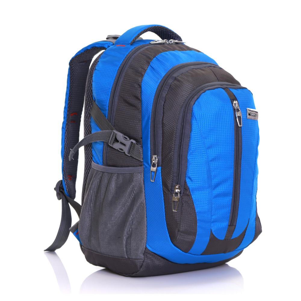 Karabar Foxford 30 Litre Backpack, Blue Front Side