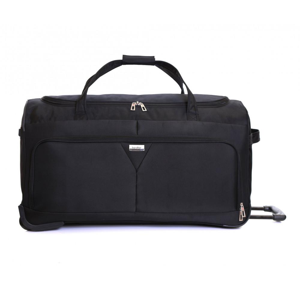 Karabar Girona 30 Inch Wheeled Bag, Black Front