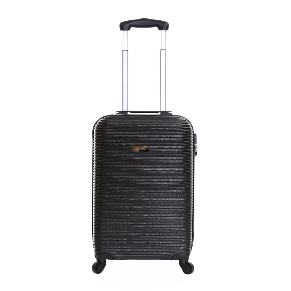 Karabar Grantham II 55 cm Hard Suitcase, Black