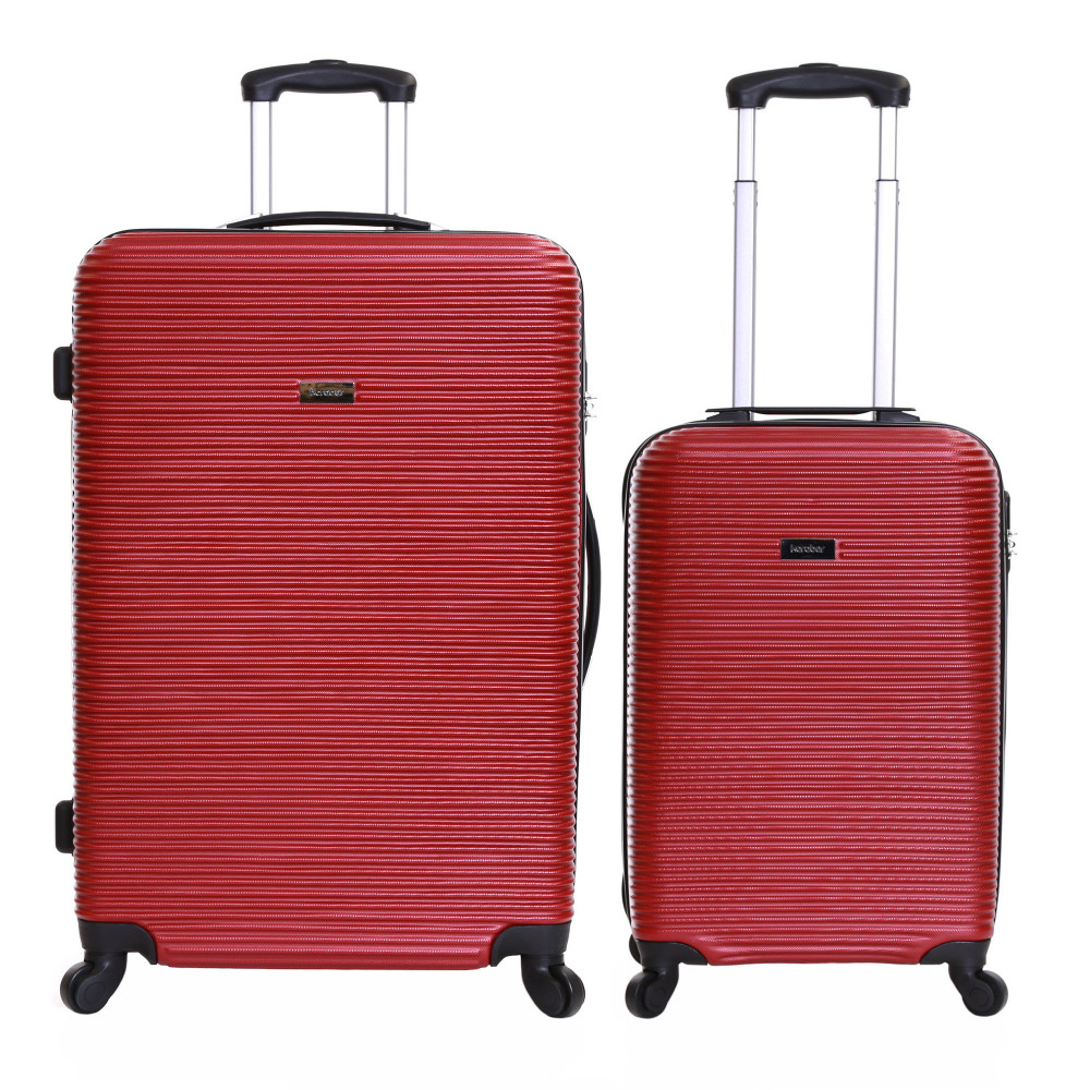 Karabar Grantham II Set of 2 Hard Suitcases, Brick