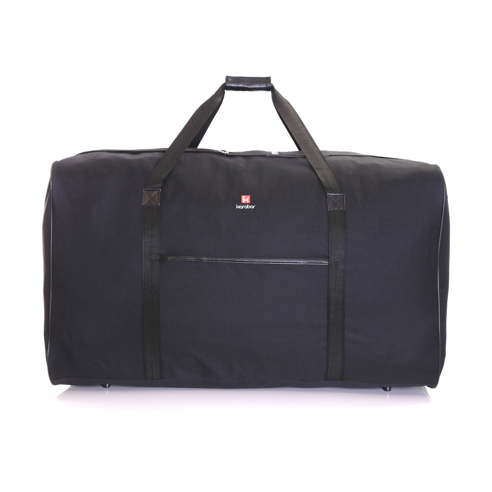 Karabar Lastur XXL 172 Litres Travel Bag, Black Front