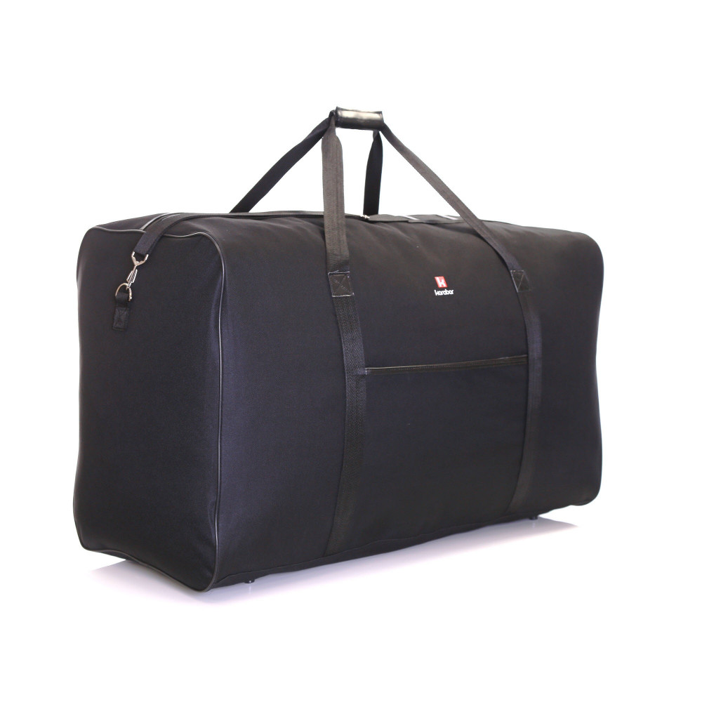 Karabar Lastur XXL 172 Litres Travel Bag, Black Front Side