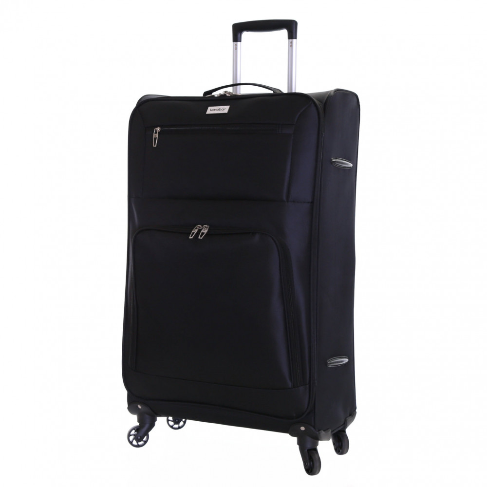Karabar Lecce 78 cm Lightweight Large Suitcase, Black