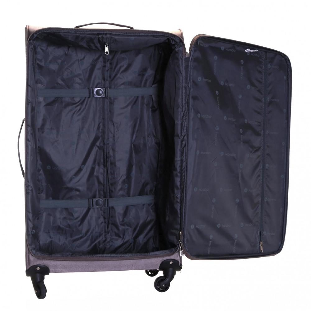 1af032c48 ... Black Karabar Lecce 78 cm Lightweight Large Suitcase, Taupe. Next. 1;  2; 3