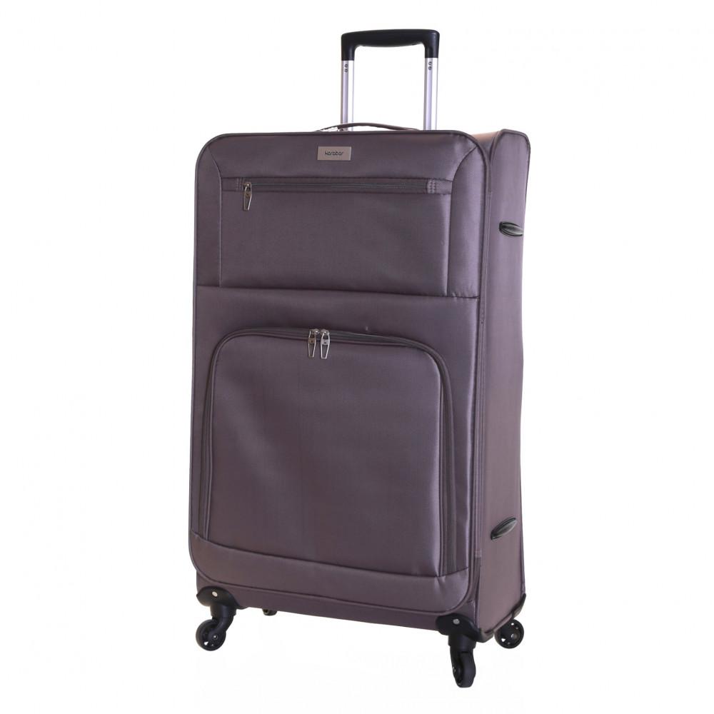 46236075c ... Black Karabar Lecce 78 cm Lightweight Large Suitcase, Taupe