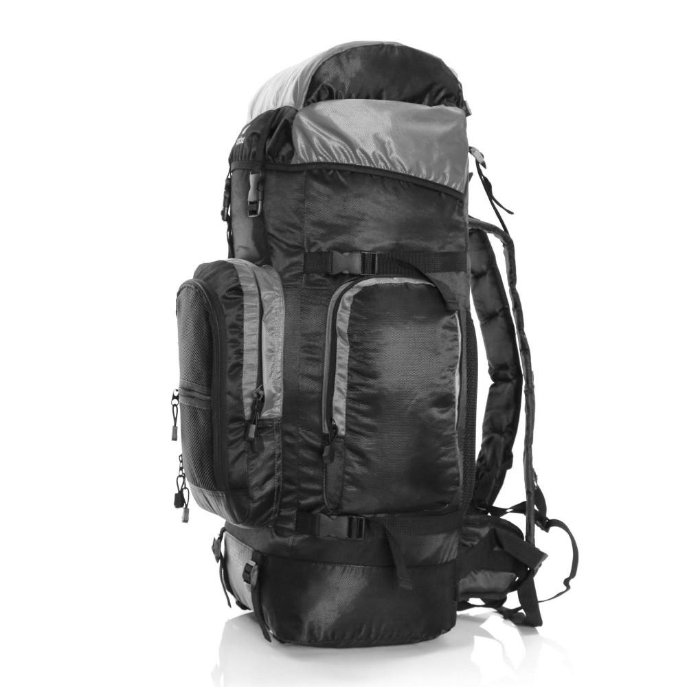 Karabar Makalu 120 Litres Travel Backpack, Grey Side