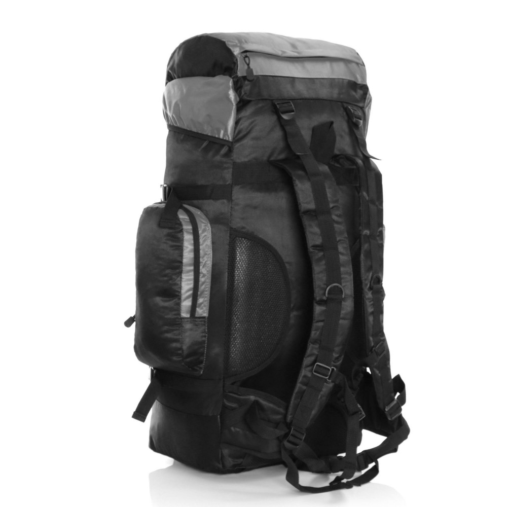 Karabar Makalu 120 Litres Travel Backpack, Grey Back