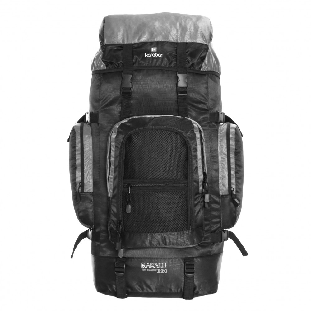 Karabar Makalu 120 Litres Travel Backpack, Grey