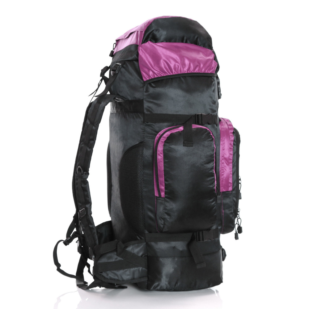 Karabar Makalu 120 Litres Travel Backpack, Pink Side