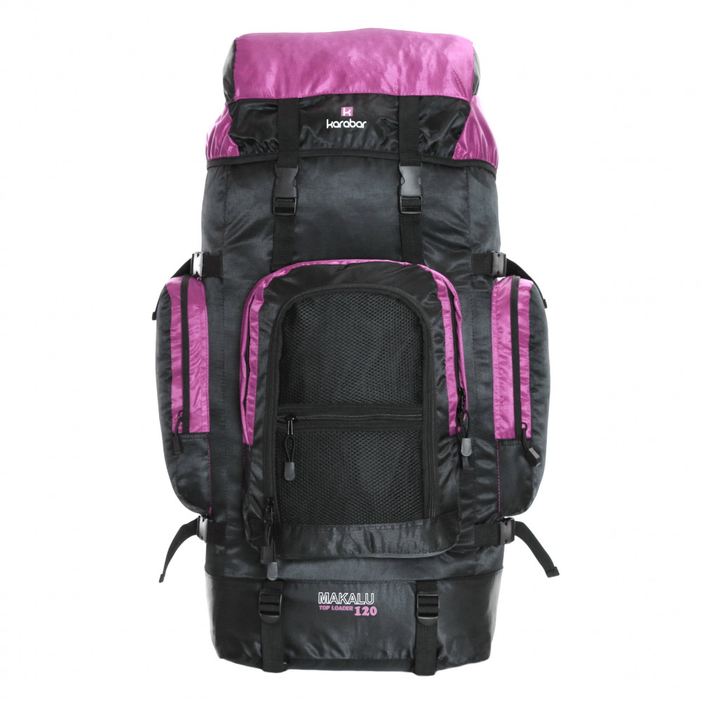 Karabar Makalu 120 Litres Travel Backpack, Pink