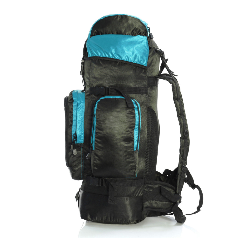 Karabar Makalu 120 Litres Travel Backpack, Sky Blue  Side