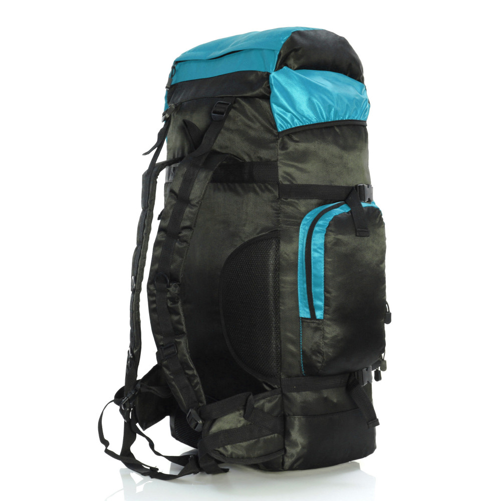 Karabar Makalu 120 Litres Travel Backpack, Sky Blue Side Back