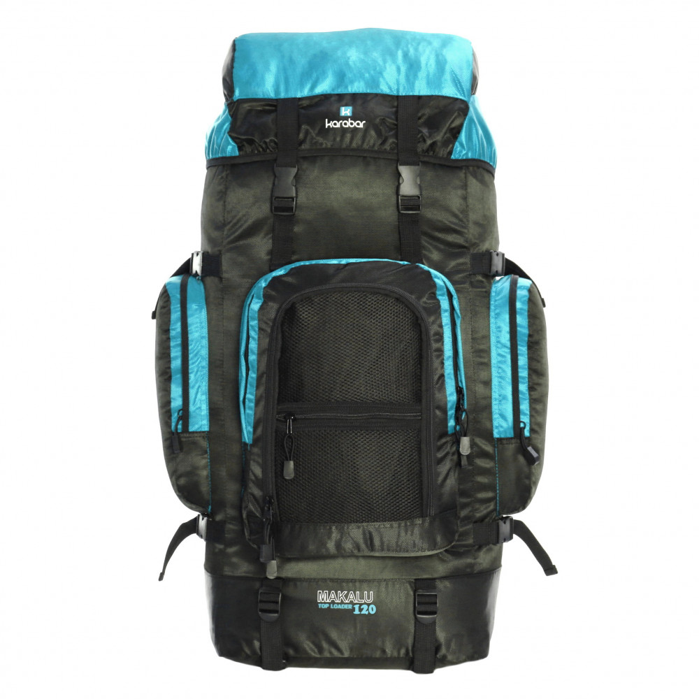 Karabar Makalu 120 Litres Travel Backpack, Sky Blue