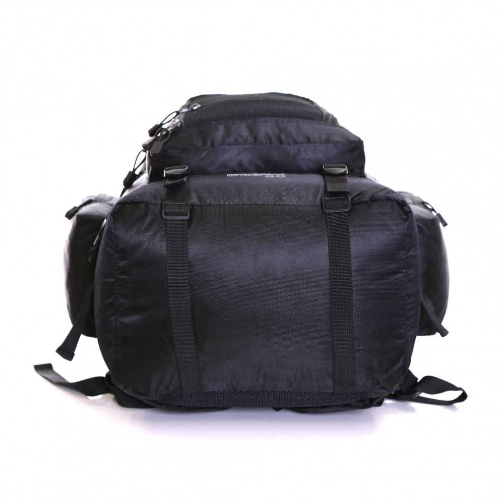Karabar Makalu 80 Litres Travel Backpack, Black Bottom